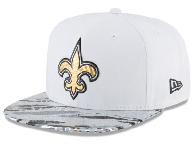 New Orleans Saints 2016 NFL On Field Color Rush 9FIFTY Snapback Cap Hats