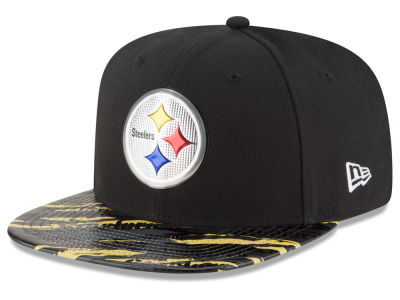 Pittsburgh Steelers 2016 NFL On Field Color Rush 9FIFTY Snapback Cap Hats