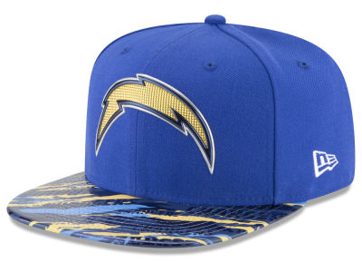 San Diego Chargers 2016 NFL On Field Color Rush 9FIFTY Snapback Cap Hats