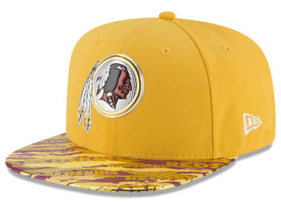 Washington Redskins 2016 NFL On Field Color Rush 9FIFTY Snapback Cap Hats