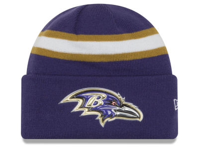 Baltimore Ravens 2016 NFL On Field Color Rush Knit Hats