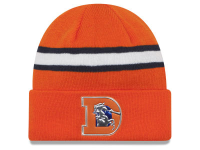 Denver Broncos 2016 NFL On Field Color Rush Knit Hats