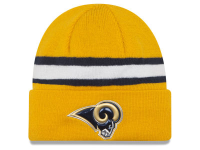 Los Angeles Rams 2016 NFL On Field Color Rush Knit Hats