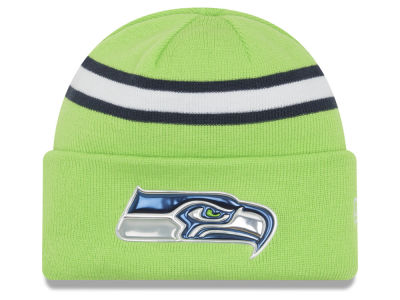 Seattle Seahawks 2016 NFL On Field Color Rush Knit Hats