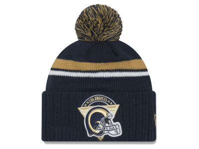 Los Angeles Rams NFL Diamond Stacker Knit Hats