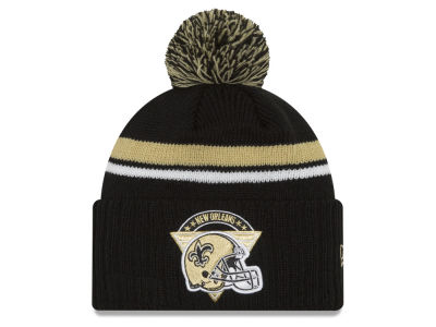 New Orleans Saints NFL Diamond Stacker Knit Hats