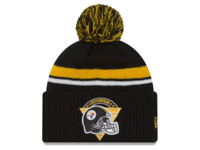 Pittsburgh Steelers NFL Diamond Stacker Knit Hats