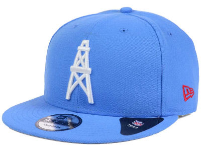 Lids Custom Hats >> Houston Oilers New Era NFL Historic Vintage 9FIFTY Snapback Cap   lids.com