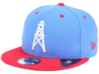 Houston Oilers NFL Historic Vintage 9FIFTY Snapback Cap Hats