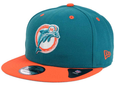 Miami Dolphins NFL Historic Vintage 9FIFTY Snapback Cap Hats
