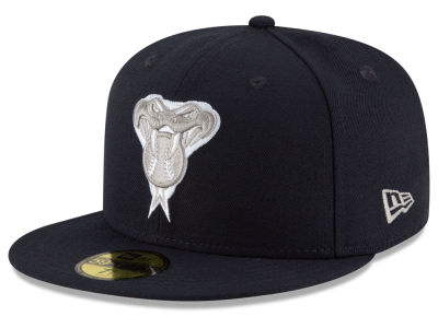 Arizona Diamondbacks MLB Navy Gray White 59FIFTY Cap Hats
