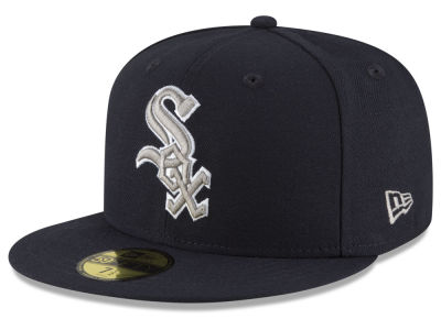 Chicago White Sox MLB Navy Gray White 59FIFTY Cap Hats
