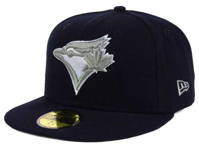 Toronto Blue Jays MLB Navy Gray White 59FIFTY Cap Hats