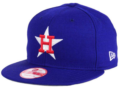 Houston Astros MLB PR Custom Colors 9FIFTY Snapback Cap Hats