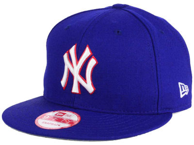 New York Yankees MLB PR Custom Colors 9FIFTY Snapback Cap Hats