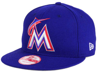 Miami Marlins MLB PR Custom Colors 9FIFTY Snapback Cap Hats