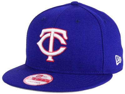 Minnesota Twins MLB PR Custom Colors 9FIFTY Snapback Cap Hats