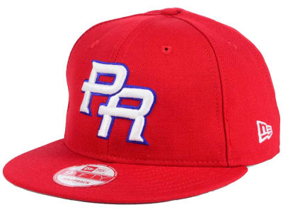 Puerto Rico World Baseball Classic Custom 9FIFTY Snapback Cap Hats