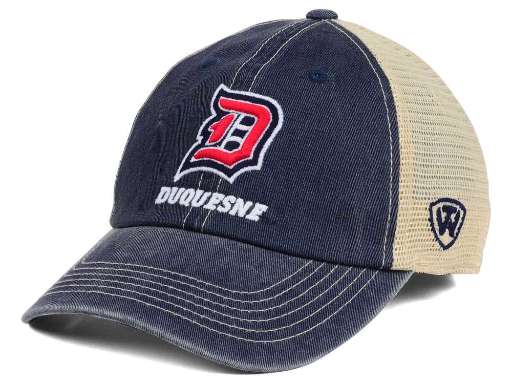 low priced 86be5 4897e ... wholesale durable modeling duquesne dukes top of the world ncaa wickler  mesh cap 77d18 52193