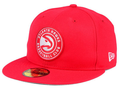 Atlanta Hawks NBA Solid Team 59FIFTY Cap Hats