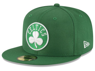 Boston Celtics NBA Solid Team 59FIFTY Cap Hats