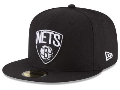 Brooklyn Nets New Era Nba Solid Team 59fifty Cap Lids Com