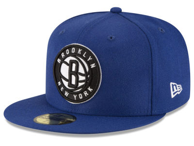 Brooklyn Nets NBA Solid Team 59FIFTY Cap Hats