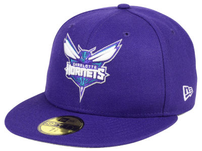 Charlotte Hornets NBA Solid Team 59FIFTY Cap Hats