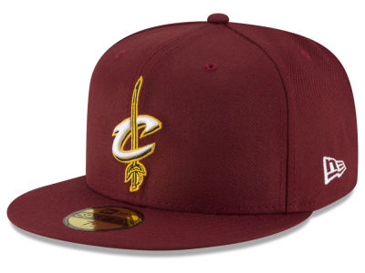 Cleveland Cavaliers NBA Solid Team 59FIFTY Cap Hats