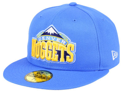 Denver Nuggets NBA Solid Team 59FIFTY Cap Hats