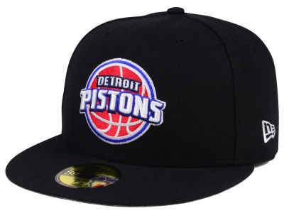 Detroit Pistons NBA Solid Team 59FIFTY Cap Hats