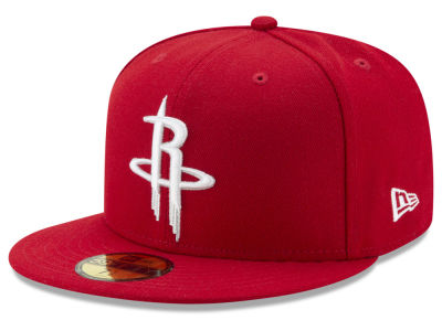 Houston Rockets NBA Solid Team 59FIFTY Cap Hats