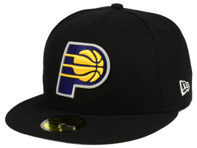 Indiana Pacers NBA Solid Team 59FIFTY Cap Hats