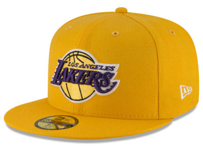 Los Angeles Lakers NBA Solid Team 59FIFTY Cap Hats