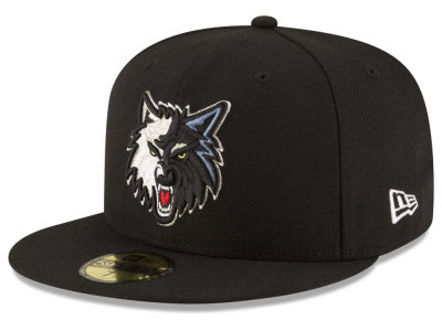 Minnesota Timberwolves NBA Solid Team 59FIFTY Cap Hats