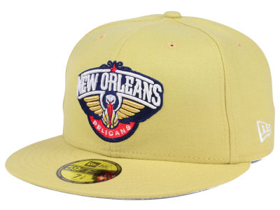 New Orleans Pelicans NBA Solid Team 59FIFTY Cap Hats