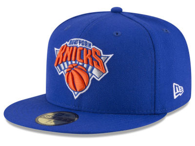 New York Knicks NBA Solid Team 59FIFTY Cap Hats