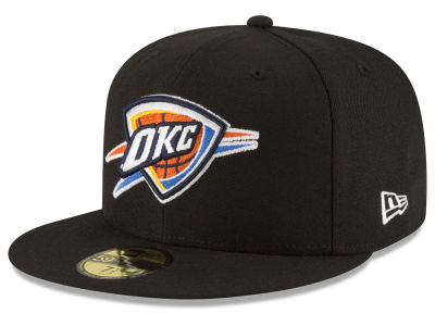 Oklahoma City Thunder NBA Solid Team 59FIFTY Cap Hats