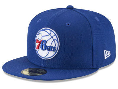 Philadelphia 76ers NBA Solid Team 59FIFTY Cap Hats