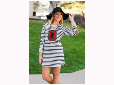 Gameday Couture NCAA Women's OSU Exclusive Block-O-Striped Tunic