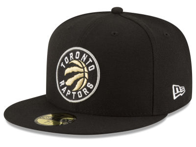 Toronto Raptors NBA Solid Team 59FIFTY Cap Hats