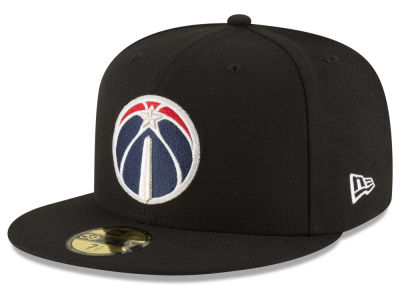 Washington Wizards NBA Solid Team 59FIFTY Cap Hats