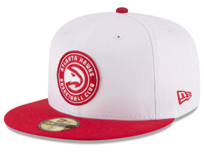 Atlanta Hawks NBA 2 Tone Team 59FIFTY Cap Hats