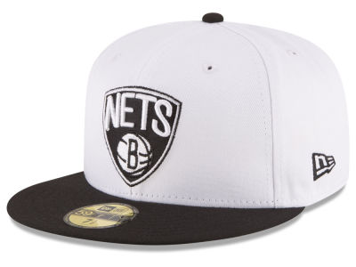 Brooklyn Nets NBA 2 Tone Team 59FIFTY Cap Hats