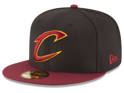 Cleveland Cavaliers NBA 2 Tone Team 59FIFTY Cap Hats