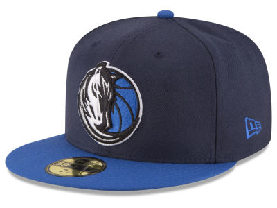 Dallas Mavericks NBA 2 Tone Team 59FIFTY Cap Hats