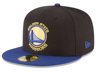 Golden State Warriors NBA 2 Tone Team 59FIFTY Cap Hats