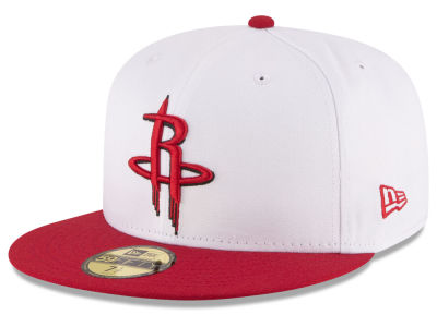 Houston Rockets NBA 2 Tone Team 59FIFTY Cap Hats