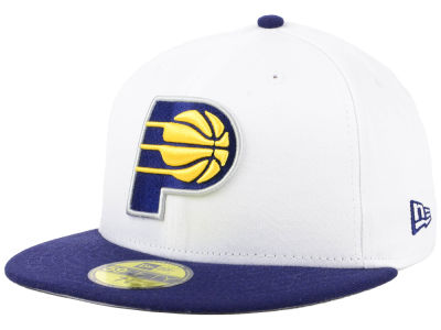Indiana Pacers NBA 2 Tone Team 59FIFTY Cap Hats