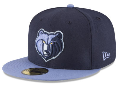 Memphis Grizzlies NBA 2 Tone Team 59FIFTY Cap Hats